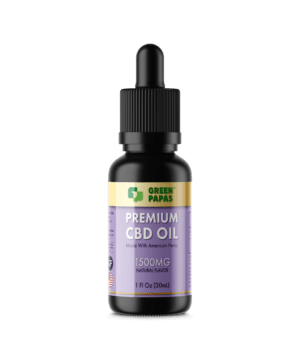 1500 mg cbd oil full spectrum natural flavor
