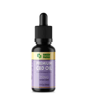 250 mg cbd oil full spectrum natural flavor