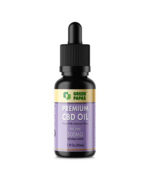 cbd oil without thc 500mg